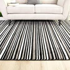 blue and white striped rug black rack runner area large size of