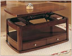 lift top coffee table plans