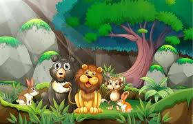 jungle wall mural animals in jungle vinyl wall mural preschooler jungle wall decals uk