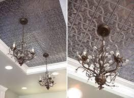 ceiling tile tin ceiling kitchen lighting