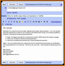 8 Cover Letter Email Sample How To Make A Cv