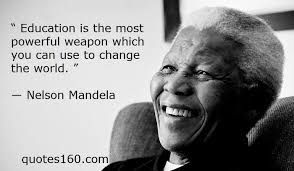 Nelson Mandela Education Quote Interesting Nelson Mandela Education Quote Inspirational Pin By ༺ʚɞ Zahra