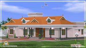 Style Single Floor Bedroom Home Kerala Design Plans Building Plans House Plans In Kerala On Kerala Style Single Storied House Plan And