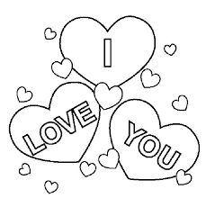 Crafty Design Ideas Coloring Pages That Say I Love You Printable