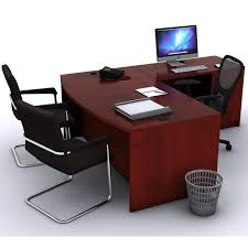 l shaped office desk cheap. Fine Office Decorating Appealing L Shaped Office Furniture 5 Rendering Bowfront Desk  L Shape Office Furniture With Cheap F