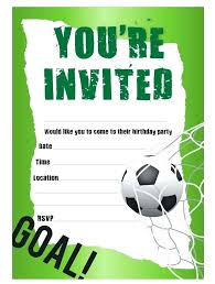Soccer Party Invitation Template Free Printable Soccer Party Invitations Shilohmidwifery Com