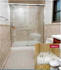 re bath tub to shower conversion cost ideas