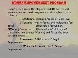 a presentation on women empowerment  women empowerment
