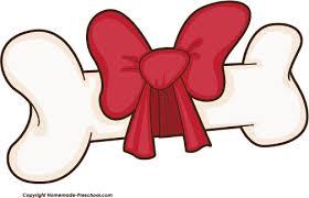 christmas dog bone clipart. Simple Clipart Dog Bone Chew Clip Art Images Free Clipart Image 4 And Christmas Bone Clipart H