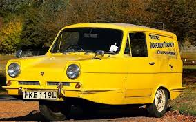the trotter reliant van from only fools and horses which used the name trotters independent
