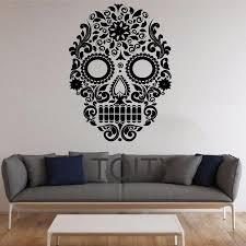 Skull Bedroom Skull Bedroom Decor Hcozy5 Piece Canvas Painting Picture Sugar