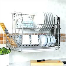 wall mount dish drainer wall mount dish drying rack wall mounted dish drying rack wall mounted