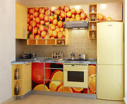 kitchen tiles with fruit design. beat the summer heat with cool colors in kitchen. get blue mosaic patterned tiles that display different fruit designs. such artful décor can make this area kitchen design i