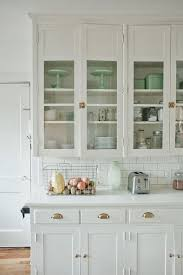 158 best glass cabinets images on kitchens kitchen pertaining to white idea 19