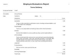 What Is An Employee Performance Evaluation