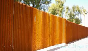 rusted corrugated metal fence.  Corrugated Chain Fence Gate Rusted Metal 8  Corrugated On G