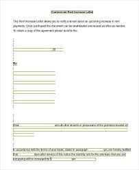 Sample Of Rent Increase Letter Rent Increase Letter Sample Rent Increase Letter 5 Free