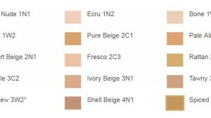 Estee Lauder Double Wear Color Chart Estee Lauder Color Chart Foundation Best Picture Of Chart