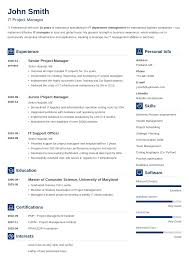 20 Cv Templates Create Your Professional Cv In 5 Minutes - Mandegar.info