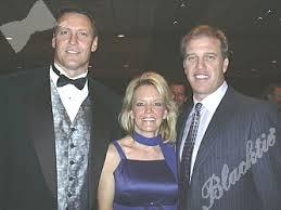 Blacktie | Photos | Keli and Lori McGregor with former Bronco John ...