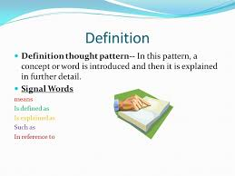 Patterns Definition Delectable Thought Patterns Cause And Effect GeneralizationExample