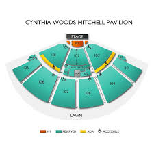 Cynthia Pavilion Seating Chart Black Crowes The Woodlands 6 20 2020 Vivid Seats