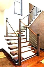 exterior wood stair railing design wooden railing designs for stairs metal stair handrail indoor wood railing
