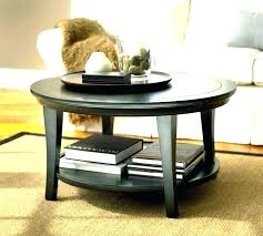 tanner coffee table look alike pottery barn round side