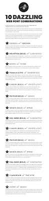 17 best ideas about resume fonts graphic designer 10 great web font combinations my fave is the number 1 combo