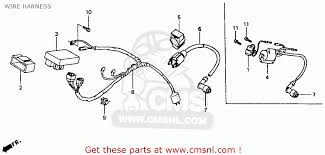 coil assy ignitio xr100r 1985 f usa 30500gn1000 as item 4 on the schematic