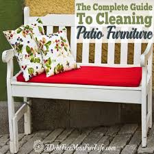 strikingly design ideas how to clean outdoor furniture patio a mess free life cushions covers
