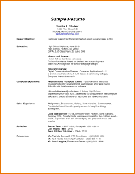 High School Resume Templates Hs Resume Template Best Of 24 Resume Template High School Graduate 13