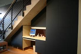 under stairs office. Terrific Hidden Office Under Stairs And Built In Desk Closet