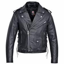 brando classic motorcycle leather jacket