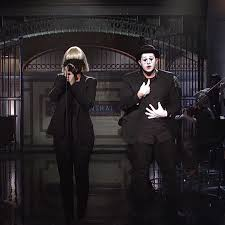 sia sings chandelier and elastic heart in a mime performance with mad