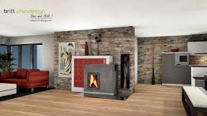 031 Britt Ofendesignfireplacedesign Kachelofen Modern Tiled Stove Contemporary