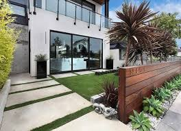 outdoor living spaces, front yard landscaping. Wooden FencesContemporary  LandscapeContemporary ...