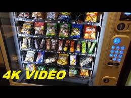 Snacks For Vending Machines Impressive 48K VIDEO Snack Vending Machine Leominster Hospital Leominster