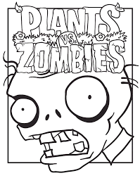 Small Picture Plants vs zombies coloring pages poster ColoringStar