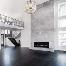 fireplace tile tiled fireplace wall