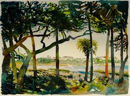 new prints available guana river ii the outpost painting