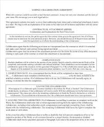 12 Collaboration Agreement Templates Word Pdf Apple Pages
