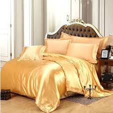 gray and yellow bedding sets solid white black gold gray satin duvet cover twin queen king