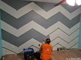 Painting Patterns On Walls Paint Designs On Walls With Tape Ideas Walls With Tape Ideas Paint