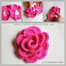 Free Crochet Flower Patterns Extraordinary Free Crochet Flower Patterns Crochet Pinterest Free Crochet