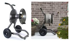 1 eley rapid reel two wheel garden hose reel cart model