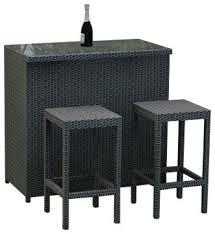 3 piece patio bar set. Exellent Set Rattan Patio Bar Set For 3 Piece Patio Bar Set