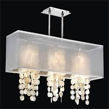 rectangular capiz chandelier omni 627cm33sp w