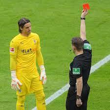 Bundesliga: Yann Sommer nach Rot gegen Hertha BSC für 2 Spiele gesperrt