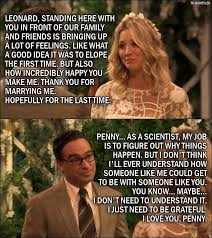 Big Bang Theory Quotes Impressive 48 Best The Big Bang Theory Quotes From The Conjugal Conjecture